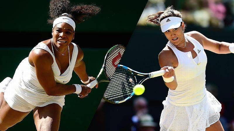 Serena Williams vs Garbine Muguruza: 10 key stats ahead of the ladies' 2015 Wimbledon final
