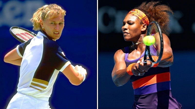 Comparing the remarkable feats of Serena Williams and Steffi Graf at Grand Slams