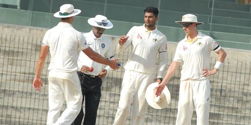 Australia A bowl out India A for 135