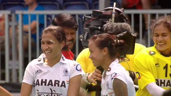 Indian women's hockey team keep Olympic hopes alive with 5-4 penalty shootout win