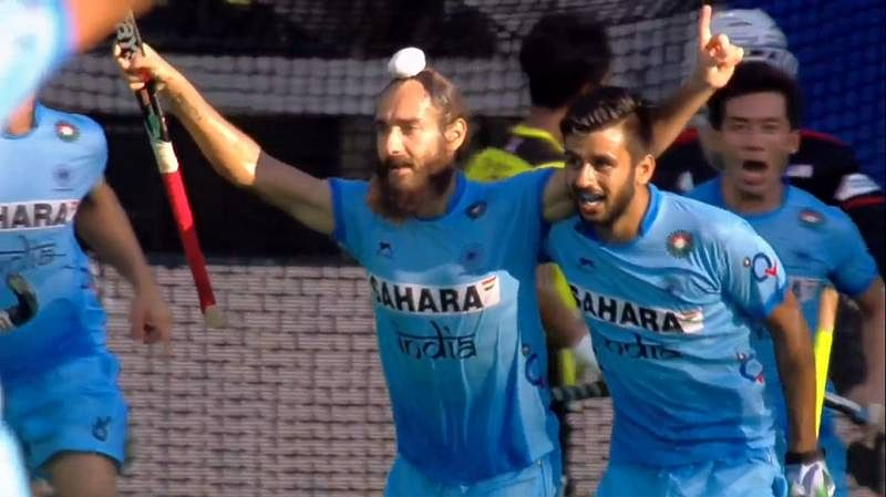 Hockey World League Semis: Jasjit Singh's brace helps India to a 3-2 win over Malaysia