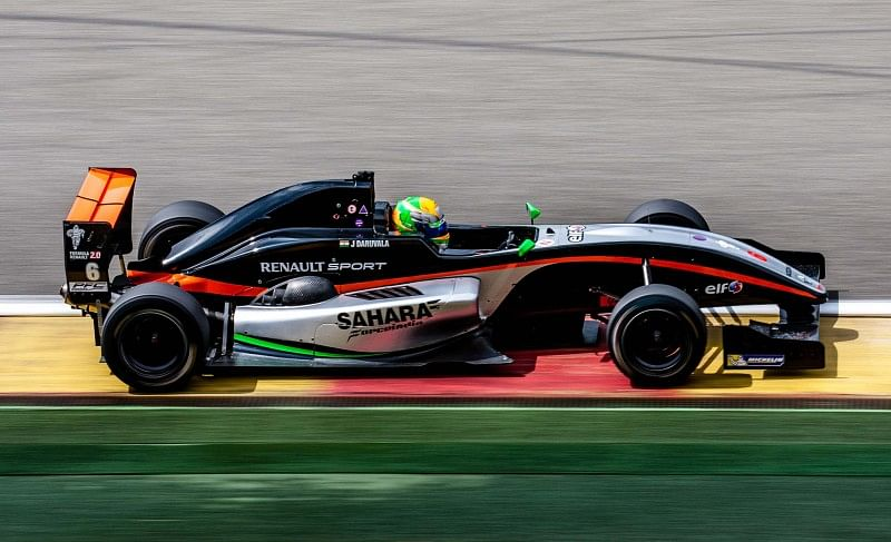 6th for Force India and Jehan Daruvala at Spa