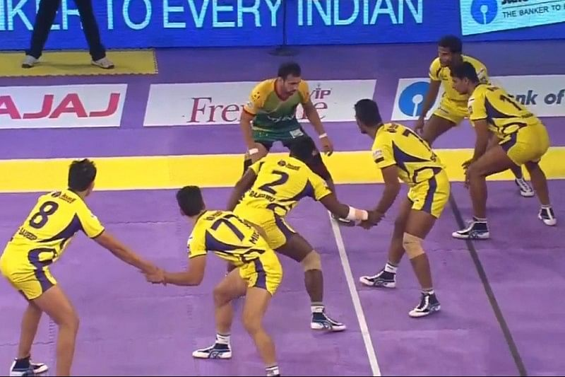 Patna Pirates 22-34 Telugu Titans; Home side suffer another loss in Pro Kabaddi