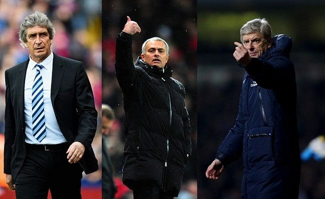 Jose Mourinho lashes out at Manuel Pellegrini and takes dig at Arsene Wenger