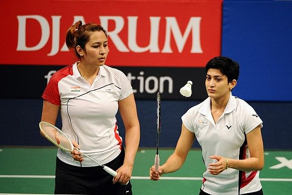 Jwala Gutta is happy that she and Ashwini are going to be part of the Olympic scheme