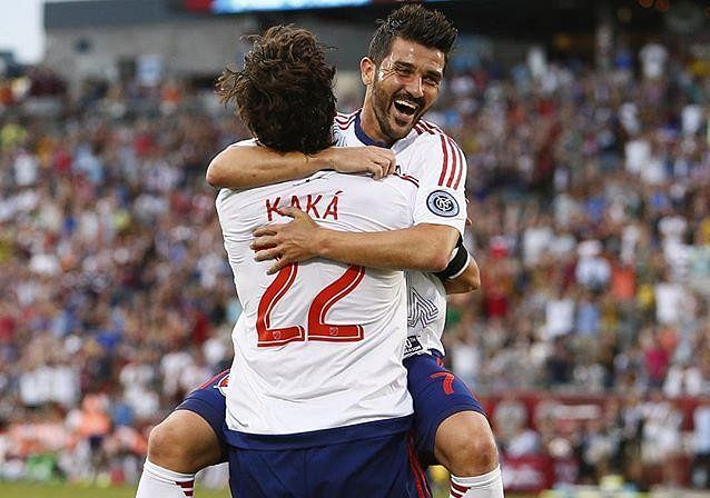 Highlights: David Villa and Kaka score as MLS All-Stars beat Tottenham 2-1