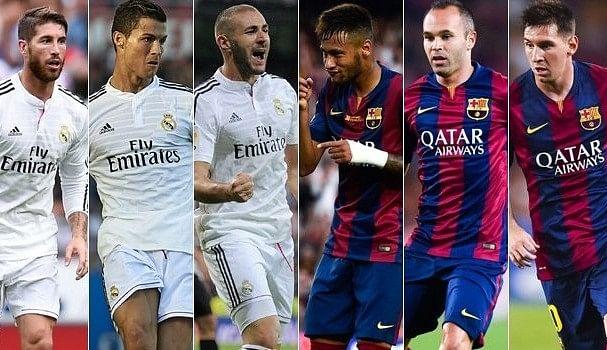 La Liga fixtures announced; first El Clasico in November