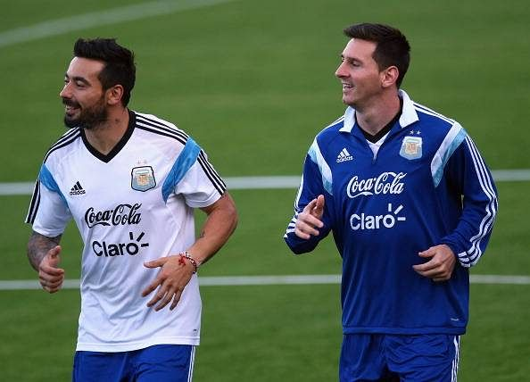 Messi's Argentina trophy will come at some point: Lavezzi
