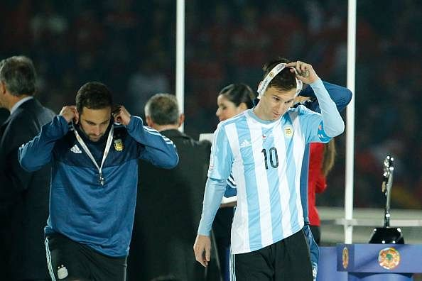 Lionel Messi refuses Copa America Best Player award