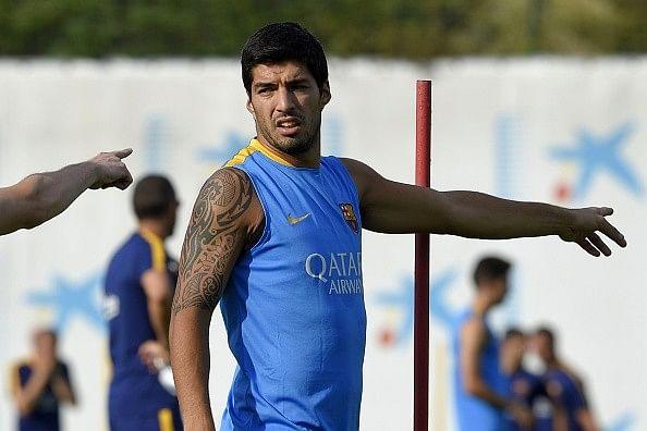 Barcelona striker Luis Suarez wants it all
