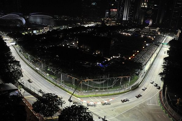 Changes made to Marina Bay Circuit ahead of Singapore GP