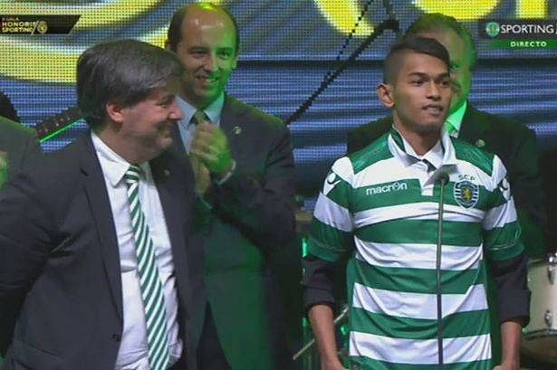 From surviving a tsunami to signing for Sporting Lisbon: The story of 17-year-old Indonesian Martunis