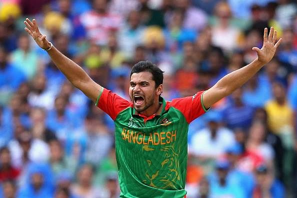 Mashrafe laments missed chances against South Africa