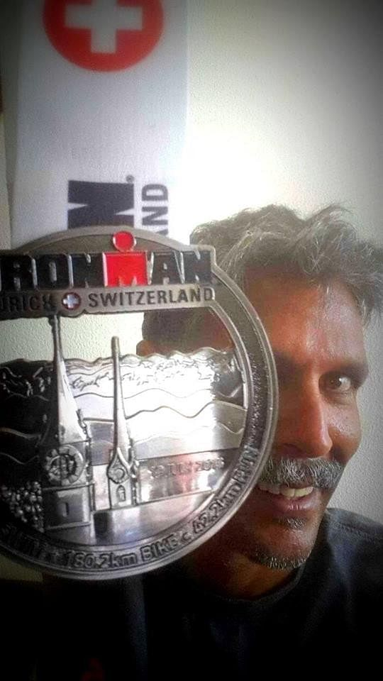 Milind Soman finishes the Ironman Challenge; completes the feat in 15 hours and 19 minutes