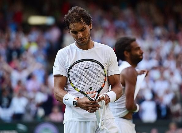 Nadal says he's feeling fine despite recent losses