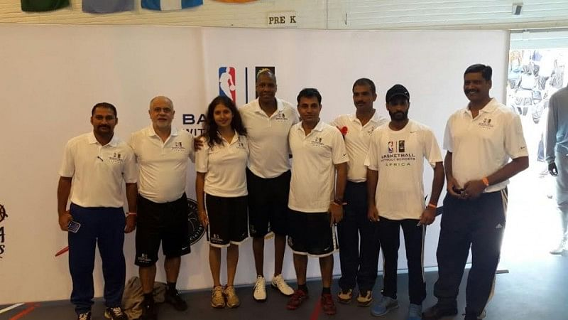 Six Indian Coaches Go for Basketball Without Borders Program in South Africa