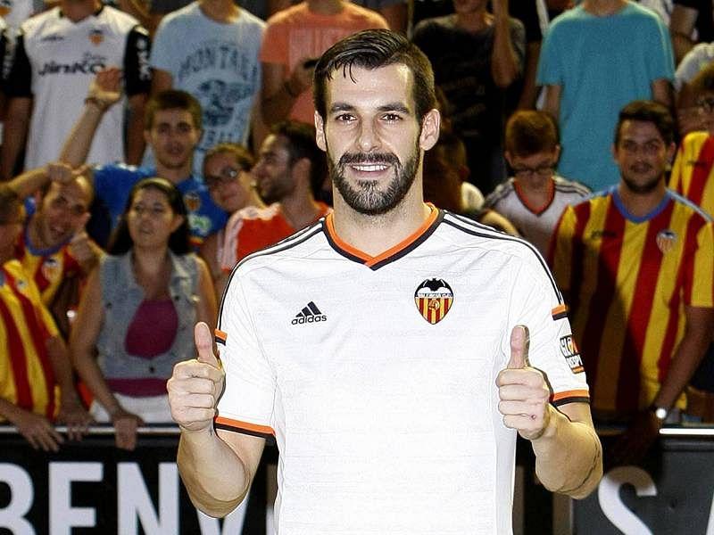 Valencia buy striker Alvaro Negredo on a permanent basis from Manchester City