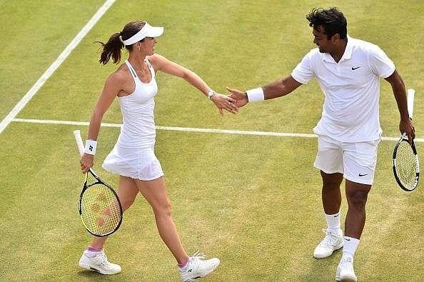 Leander Paes and Martina Hingis enter Wimbledon mixed doubles quarters