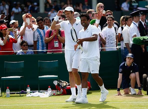 Leander Paes and Daniel Nestor move ahead in men's doubles at Wimbledon