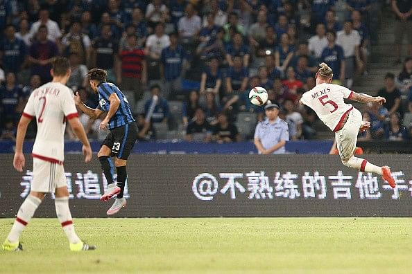 Video: Philippe Mexes scores stunning volley in Milan Derby