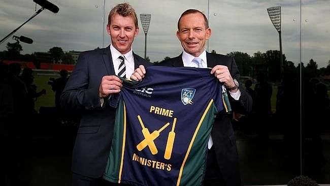 Australian PM's XI match on October 23rd