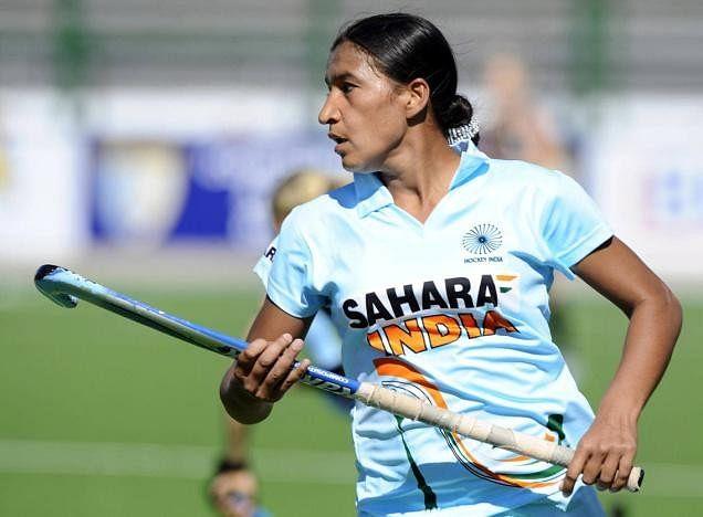 Skipper Rani Rampal lauds junior women's hockey goalie