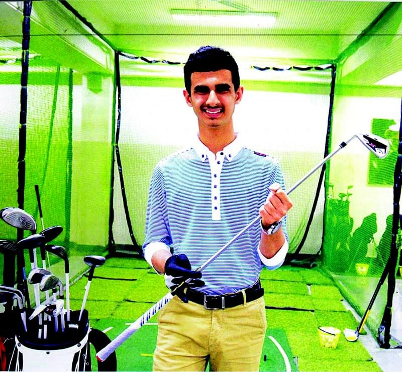 Saini becomes first Indian golfer to play in Special Olympics World Games