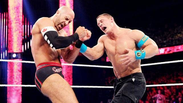 Video: John Cena's post-RAW emotional speech praising Cesaro