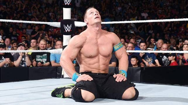 John Cena makes fans cry after WWE RAW goes off air in Chicago
