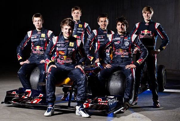 On the Red Bull Young Driver Program