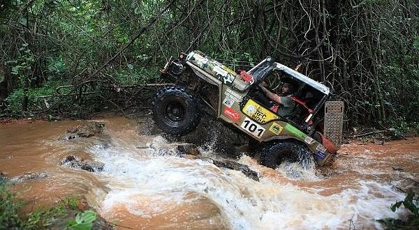 Rain Forest Challenge: Malaysian driver Tan Eng Joo takes lead
