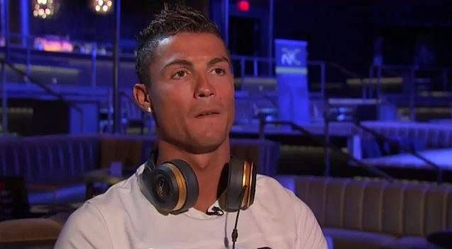 Cristiano Ronaldo cuts short interview after being questioned about Sergio Ramos
