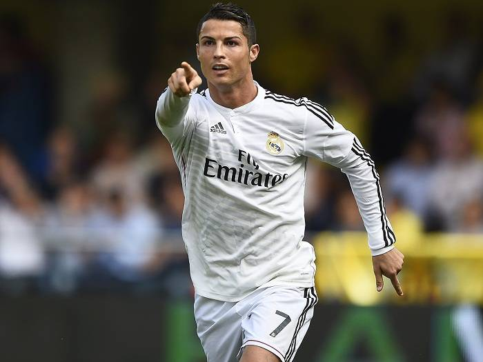 I was told I was too skinny to play football, says Cristiano Ronaldo