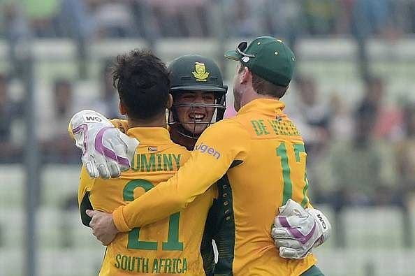 South Africa thrash Bangladesh in the first T20I