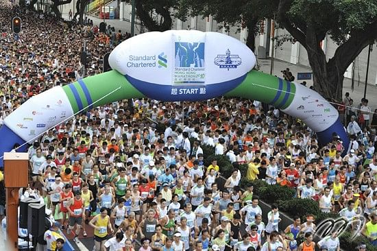 Top 4 Standard Chartered Marathons in the World.