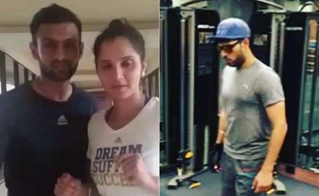 Yuvraj Singh 'moonwalks' his way through Shoaib Malik's dance challenge