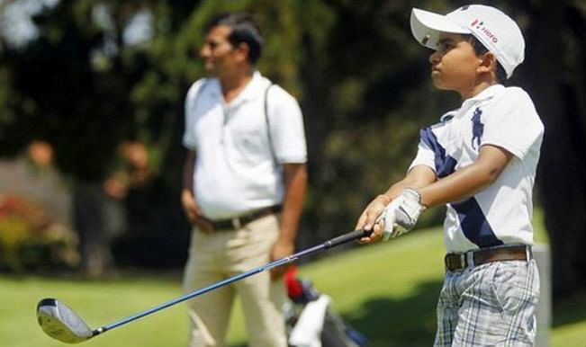 10-year-old Indian golfer wins second title in 2 weeks