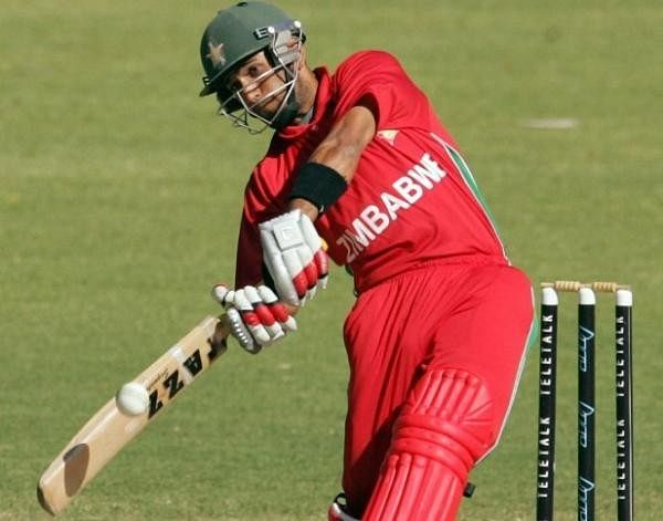 Zimbabwe's mid-innings scoreboard
