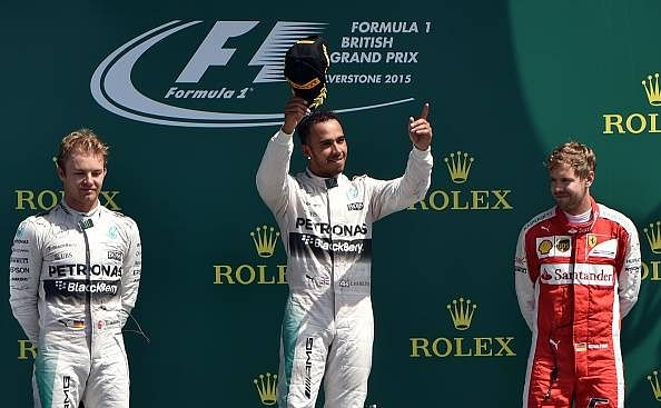 Lewis Hamilton wins British Grand Prix 2015, Force India does well