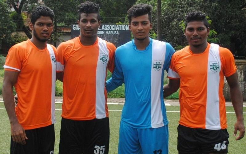 Sporting Clube de Goa sign up Sesa Football Academy quartet