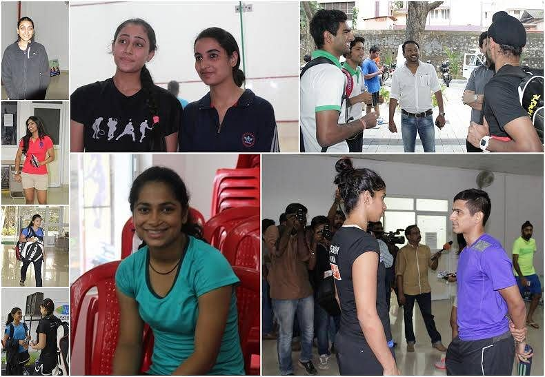 Easy time for top seeds on a hectic day in National Squash championship