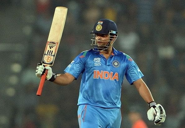 Suresh Raina signs with IOS sports management group