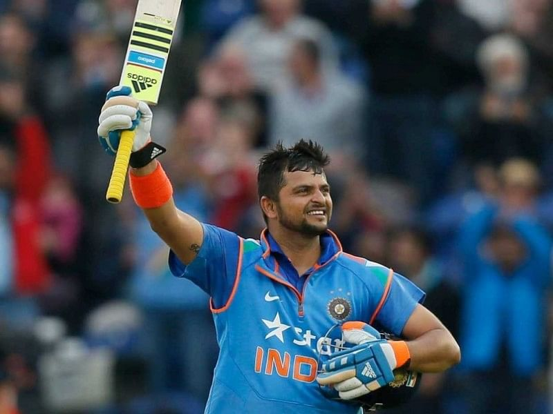Suresh Raina completes a decade in International cricket