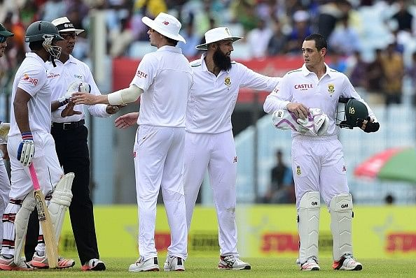 Tamim Iqbal involved in a shoulder-barging incident again