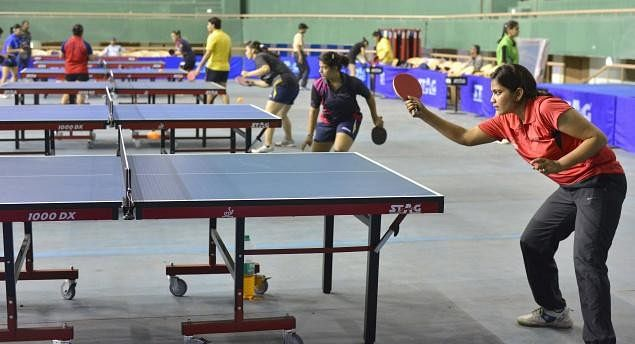 All-India Inter-Institutional Table Tennis Championships: PSPB teams get top billing