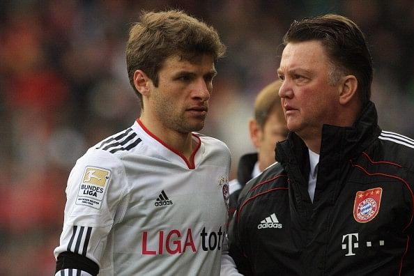 Rumour: Manchester United preparing £56 million bid for Bayern Munich's Thomas Muller