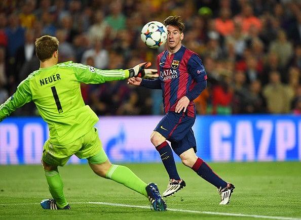 Top 10 contenders for UEFA Goal of the Season