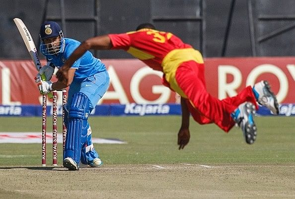 India post 178/5 against Zimbabwe in first T20
