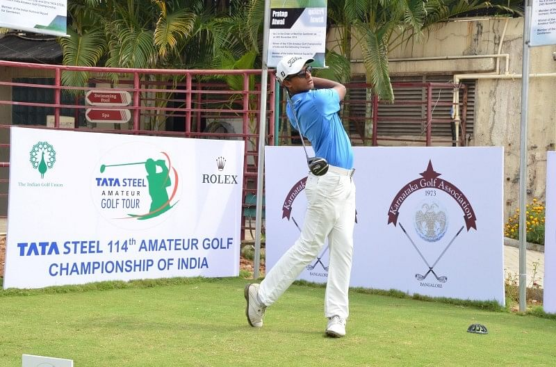 Viraj Madappa to play in Porter Cup golf event