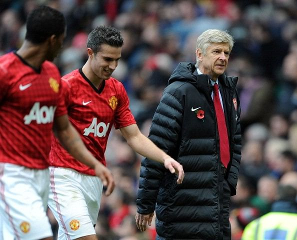 Robin van Persie opens up on managers he played under in England